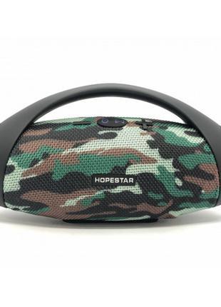 Портативная bluetooth стерео колонка спикер Hopestar H37 Камуфляж