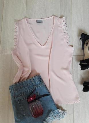 Милая/шифоновая блуза/vero moda размер s