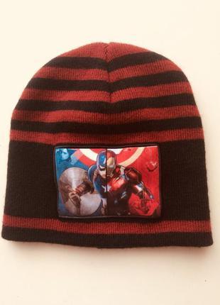 Шапка для мальчика серии spiderman от marvel