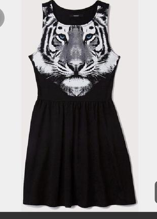 Платье с пышной юбкой 3d принт