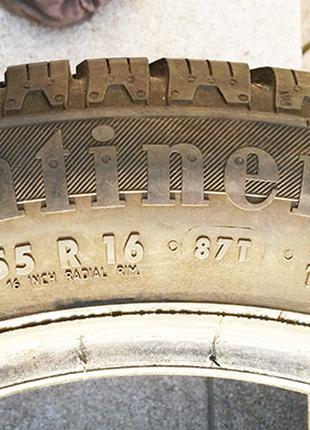 Шины автомобильные 195/55 R16 Continental, пара ЗИМА