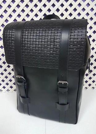 Рюкзак мужской кожаный бруклин