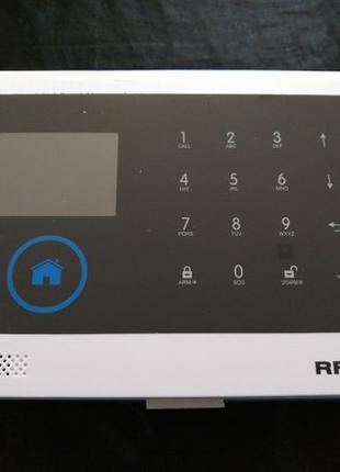 Сигнализация GSM WiFi мультизонный универсальный контроллер +RFID