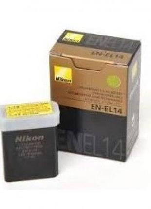 Аккумулятор батарея Nikon Никон EN-EL14 D5100 D3100 D3200 P710...