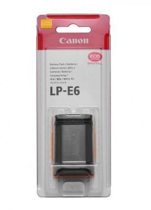 Аккумулятор батарея Кенон Canon LP-E6 для 60D, 70D, 5D Mark II...