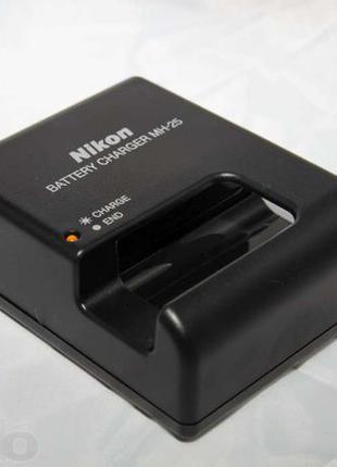 Зарядка MH-25 для Nikon никон нікон D7000 D800 D600 D7100 д700...