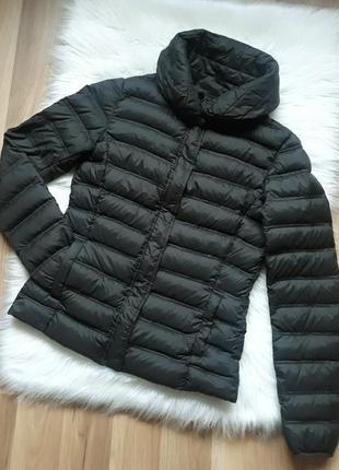 Легкая короткая демисезонная пуховая куртка пуховик анорак man...
