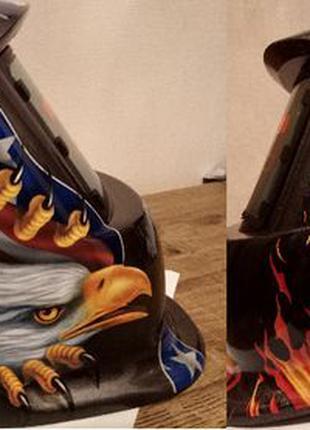 Хамелеон сварочная маска автоматически затемняющаяся