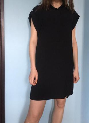 Прямое платье-рубашка