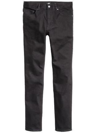 Твиловые брюки skinny fit