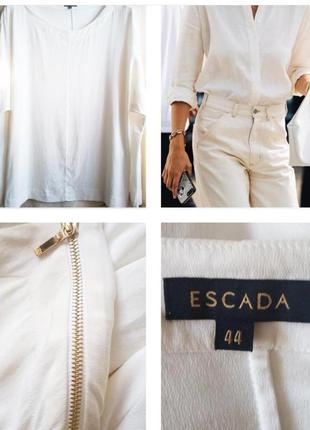 Люксовая, шикарная блуза из шелка сливочного цвета!