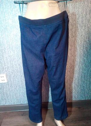Женские джинсы на широком поясе резинке. country rose