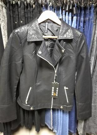 ❤️укороченая куртка косуха кож зам