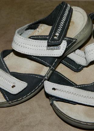 Босоножки сандали детские черные с серым р. 32 inblu.