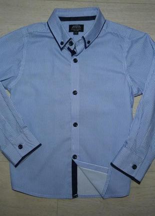 Нарядная рубашка matalan 4-5 лет
