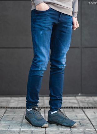 Теплі джинси Staff slim fleece col1