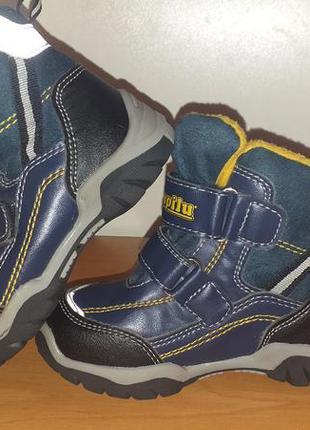 Ботиночки на утеплителе деми 25 размер