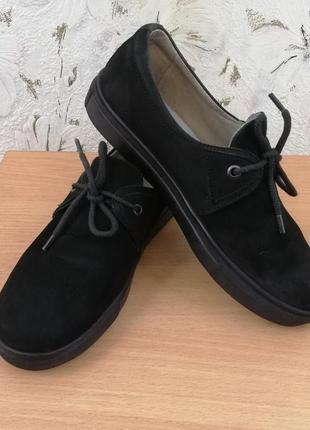 Кеды, спортивные туфли, нубук, 39р.