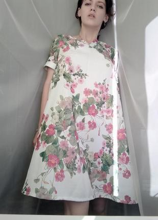 Платье женское vovk новое в цветы
