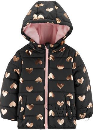 Демисезонная куртка на девочку Carters, Old Navy