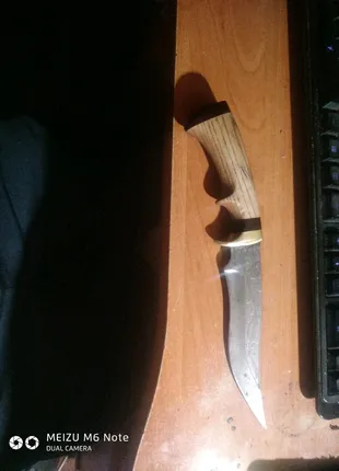 Нож ручной работы