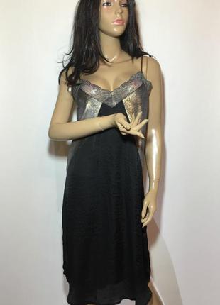 Платье zara в бельевом стиле