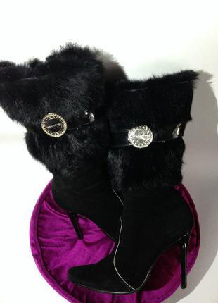Fashion pymes сапоги женские с натуральным мехом р-39 25,5 см ...