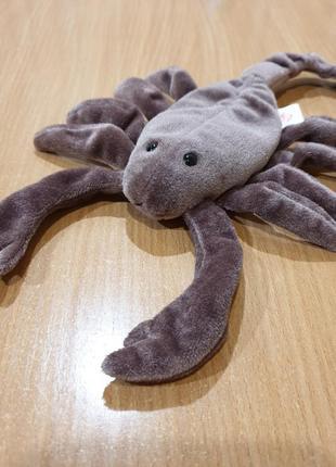 Детская мягкая игрушка ty скорпион. ручная работа.
