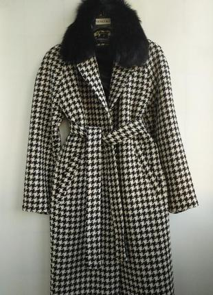 Зимнее  пальто,итальянская шерсть!