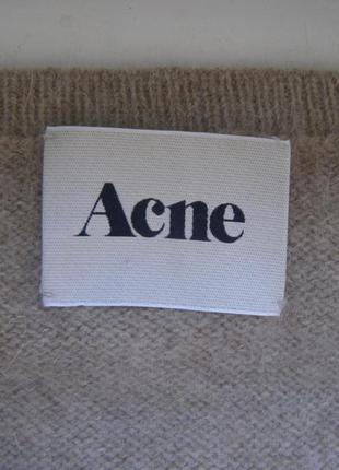 Acne кофта 70% ангора s-размер. оригинал