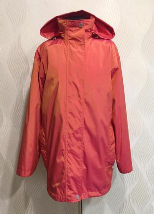 Переливающаяся куртка хамелеон со съемной подстежкой gil bret ...