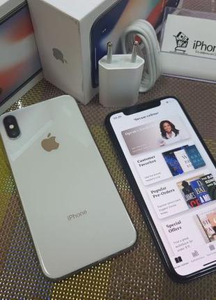 Apple iPhone X 256Gb. Black / Silver ( neverlock ), магазин iP...
