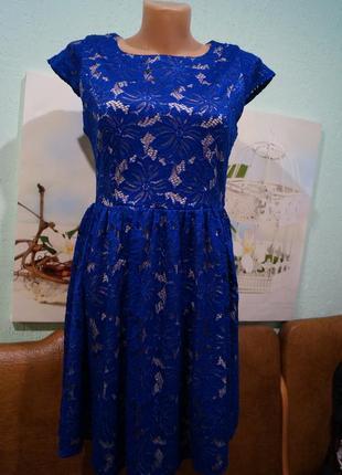 Кружевное платье р.м,бренд sisters