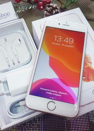 Apple iPhone 6S 64Gb. Rose Gold, ( neverlock ) Идеал, от Магаз...