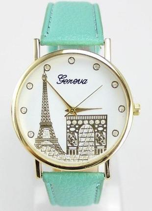 Часы geneva эйфелева башня
