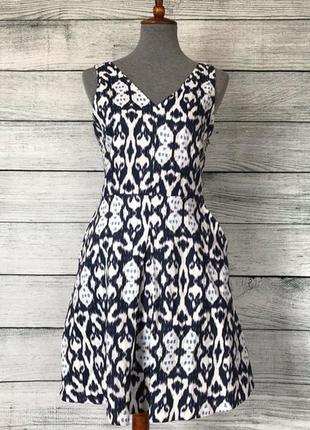 Льняное платье с карманами gap летнее натуральное