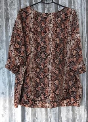 Шикарная блуза большой размер батал размер 52-54 большой выбор...