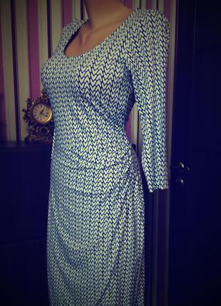 Платье миди 48 размер нарядное офисное с рукавом