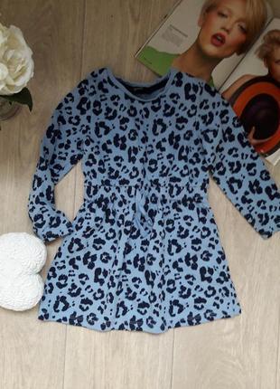 Классное модное платье 2-3 года george