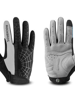 Велоперчатки Rockbros spider велосипедные перчатки