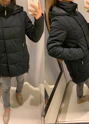 Чёрная куртка еврозима курточка reserved есть размеры