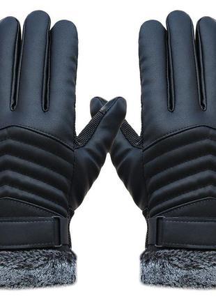 Мужские перчатки или на подростка, на меху