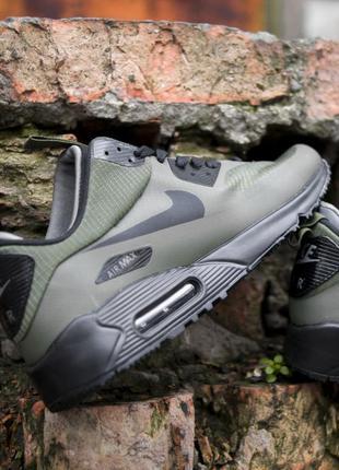 Nike air max 90 ultra mid winter green, мужские кроссовки найк...