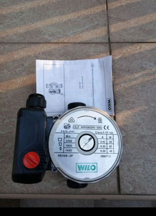 Насос циркуляционный Wilo Star RS 15-6-130