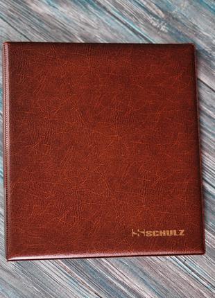 Альбом для монет SCHULZ + 10 листів (на 221 монету)