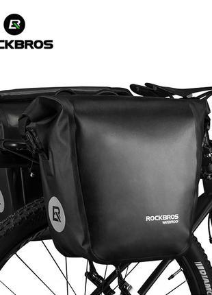 Велосумка на багажник Rockbros 10-18л сумка велосипеда байкпакинг