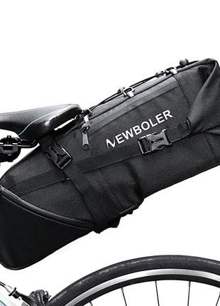 Велосумка подседельная 3-10л байкпакинг Newboler сумка велосипеда