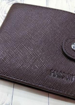 Портмоне Hassion puce | натуральная кожа