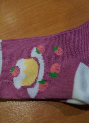 Носочки на девочку 3 год