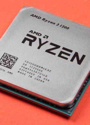 Процессор AMD Ryzen 3 1200, любые тесты, цена 950 грн